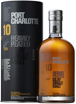 Port Charlotte Scotch Single Malt 10 Year Heavily Peated